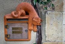 *o* > Mailboxes / by Hélène Braconnier