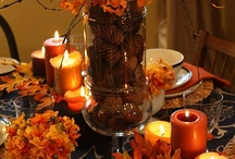 Thanksgiving and Fall Decor / by Tina Morales