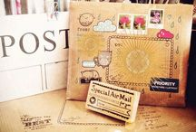 Letters & Stationary (Snail Mail) / Stationary Stuff: stamps, cards, envelopes and etc. / by Madalyn Bumpurs