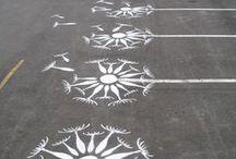 Urban Graffiti - street art / I love my urban life. I'm a city girl