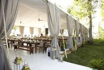 Tents / A collection of beautiful tents ::: with the right touches they can reflect your event perfectly!