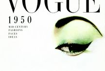 Print: Magazine: Vogue Covers / Please pin a max of 12 pins from my Vintage VOGUE board. Follow the board, and pin the new additions as I find them. Thanks. V O G U E / by Age Hill