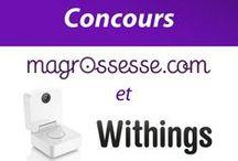 MaGrossesse.com / MaGrossesse.com et Withings ont organisé un concours avec 2 Smart Baby Monitors à gagner.  Découvrez MaGrossesse.com ! :) / by Withings
