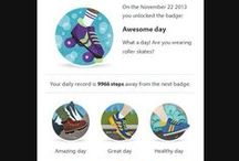 Unlocking the Withings activity badges / We are happy to introduce the Withings activity badges! Collect these virtual badges with your Withings Pulse (http://www.withings.com/en/pulse)! The first Withingers to post screen captures of their newly unlocked badges on this page will receive the actual badges ;) Get ready! Set Go!  / by Withings