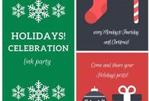 Holidays! Celebration 2015 / Pins from the 2015 Holidays! Celebration Link party on the Keeping it Real blog (http://keepingitrreal.blogspot.com)