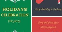 Holidays Celebration 2016 / links shared in the 2016 Holidays Celebration Link Party
