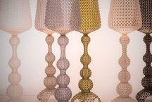 Lampe KABUKI by Kartell / Lampe KABUKI , design Ferruccio Laviani. Matériau : Technopolymère, thermoplastique transparent ou teinté dans la masse.