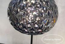 Lampe Planet by Kartell chez Empreinte d'intérieur . / La lampe Planet de chez Kartell . Design Ferruccio Laviani
