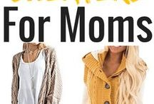 Fashion For Moms / Ideas and products to help you feel your very best! Hairstyles, fashion, and make up tips for every occasion that motherhood brings you!