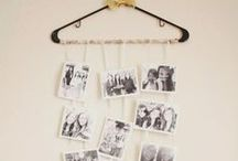 DIY Photo Display Ideas / Find unique ways to display your photographs.