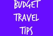 Budget Travel Tips / Travel is one of the best things a person can do to grow. This board is full of travel inspiration, blog posts, and travel decor.