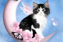 Cat Art / Stunning artwork dedicated to cat subjects.
