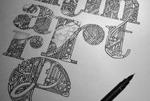 Ref: Print + Type + PSD / by Jessie Lawrence