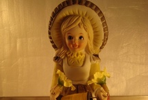 Figurines, sewing and crafts