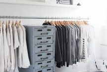 CLOSET / Stuffing the clothes: dream closets.