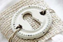 Metal/Mini Embellishments / by Maria Calderone