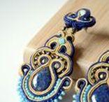 Netha Soutache Jewellery / My own hand made embroidered jewellery. Soutache.