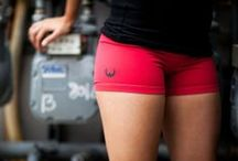 Women's Gym Fashion / Find the hottest tanks, shorts and trends for women in CrossFit! / by WODshop