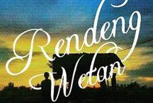 Rendeng Wetan / Rendeng Wetan, Sewon, Bantul, Jogjakarta, Indonesia, Lettering, Font, Handwritten, Letters, Handmadefont, Design, Typedesign,Inspiration, Art.