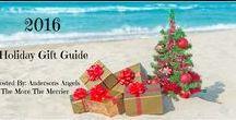 2016 Christmas Gift Guide / These are products chosen by Trista (AndersonsAngels.com) and me for our 2016 Holiday Gift Guide!