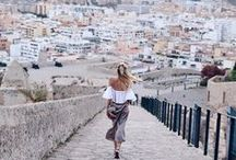 Dreaming of... Spain / Spain. Travel Dreams. Vacation. City getaway. Madrid. Barcelona. What to wear in Spain.