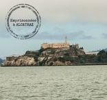 Visite de San Francisco / Photos de San Francisco en Californie aux Etats-Unis. Son Golden Gate, l'île d'Alcatraz, son cable car, le pier 39, ses maisons victoriennes...