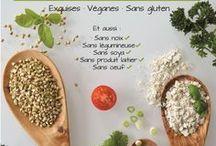 Livre de recettes Le sarrasin végétalien vous livre ses recettes : Exquises, véganes et sans gluten