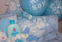 Baby Shower / Baby Shower Hamper Party Decorations Inspiration