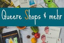 Queere Shops & mehr /  Vorstellung von Produkten, die du als queere Person unbedingt besitzen solltest, damit sie ein dein Leben bunter und lebenswerter machen