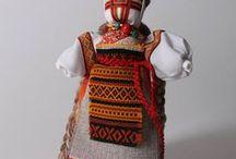 Petrykivka style folk dolls / cotton dolls / for children