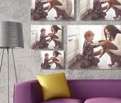 Home Decor / Fill your home with memories, decorate with photographs!