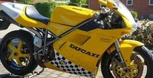 Ducati 748 R SPS / #Ducati #748 #R #1994 #Yellow #carbon #855 #engine #SPS