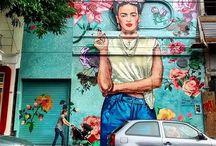Street Art & Interventions