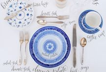 """It's a Set Up!  / """"I don't hope to tell you very much that is new; I only hope to set the table for you, arranging the dishes a little better and a little more attractively so that you will be tempted to partake"""" ~ AW Tozer"""