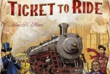 Ticket To Ride / Showcasing the Ticket To Ride Board Game, Extras and Accessories - plenty of ways to explore and extend the fun with one of our favourite games.