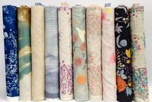 Favorite Fabrics / Fabrics we can't get enough of! Get them while you can.
