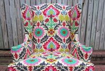 Textiles for the Home / Home decor fabrics to outfit your home.