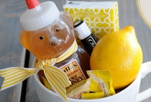 Gifts to Make / Here are some ideas for gift baskets.