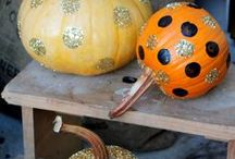 Fall Decorating and Decor / DIY and decorating ideas for fall and autumn.  Pumpkins, front steps and all things fall! / by Jennifer Allwood- The Magic Brush