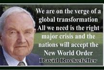 Politics, Preservation of Freedom, New World Order / by Patricia Brady