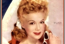 Betty / Betty Hutton (February 26, 1921 – January 25, 2007) was an American stage, film and television actress, comedienne, and singer. / by Sweet Junebug Designs