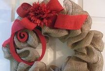 Wreaths / Wreaths and ideas on how to make them.