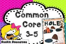 Common Core LA 3-5 / Common Core aligned lessons and activities for Language Arts Grades 3-5.  If you would like to join this board, email pam.olivieri@gmail.com.  Please follow these rules:  Please pin 3 ideas, blog posts, or free items  to every 1 paid TpT item.  Mix it up so they aren't all product covers.  Thanks! / by Pam Olivieri- Rockin Resources