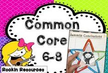 Common Core LA  6-8 / Find lessons and activities for Language Arts grades 6-8 aligned to the Common Core.  If you would like to pin to this board, email me at pam.olivieri@gmail.com.  Please pin 3 ideas, blog posts, or free items to every 1 paid TpT item.  Mix up the pins so it isn't crammed with product covers.  Thanks! / by Pam Olivieri- Rockin Resources