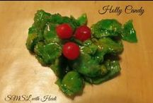 Christmas Food / Christmas favorites for the dinner table and Christmas inspired desserts.