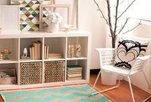 Living Room: Erica & Chad / Redesign and refresh of a living room
