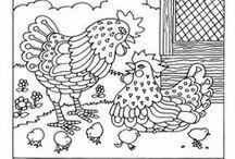 Designs - *Chickens* / by Annalize Jansen van Rensburg