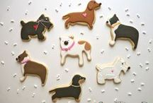 Animal Friend Cookies by Sweet Dani B / Animal cookies are SWEET and are also some of our favorite cookie favors! Xo