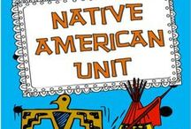 Native Americans Ideas / Find the best and cutest ideas for teaching Native Americans in upper elementary classrooms.  You will find teaching ideas, resources, activities, crafts, and lesson plans!