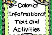 Colony Ideas / Colonies:  Find the best colonization ideas, activities, lessons, and resources for your upper elementary classroom!